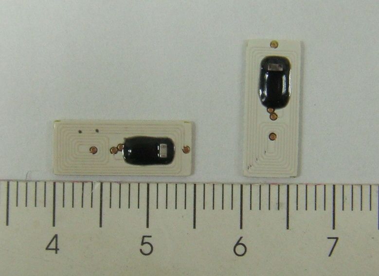 PCB Tag, I-Code SLIx, 6x15mm